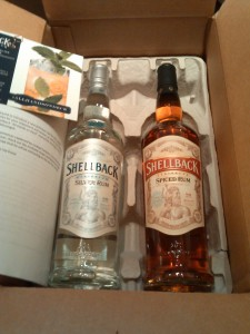 Shellback Silver Rum and Shellback Spiced Rum