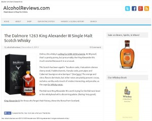 AlcoholReviews.com Screenshot 12-31-2013