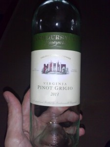 Barboursville Vineyards Pinot Grigio 2013