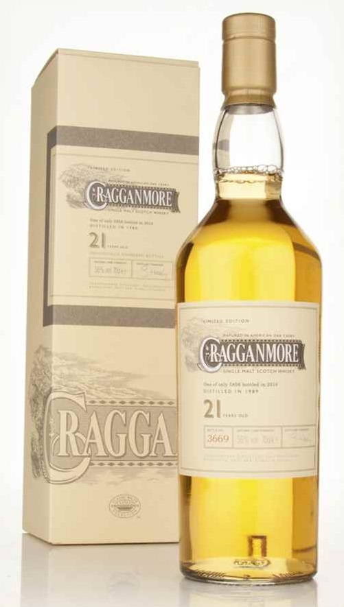 Cragganmore 21 Year Old 2010