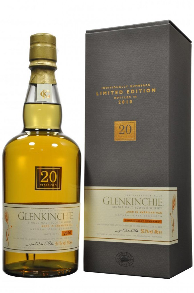 Glenkinchie 20-Year Old Single Malt Scotch Whisky