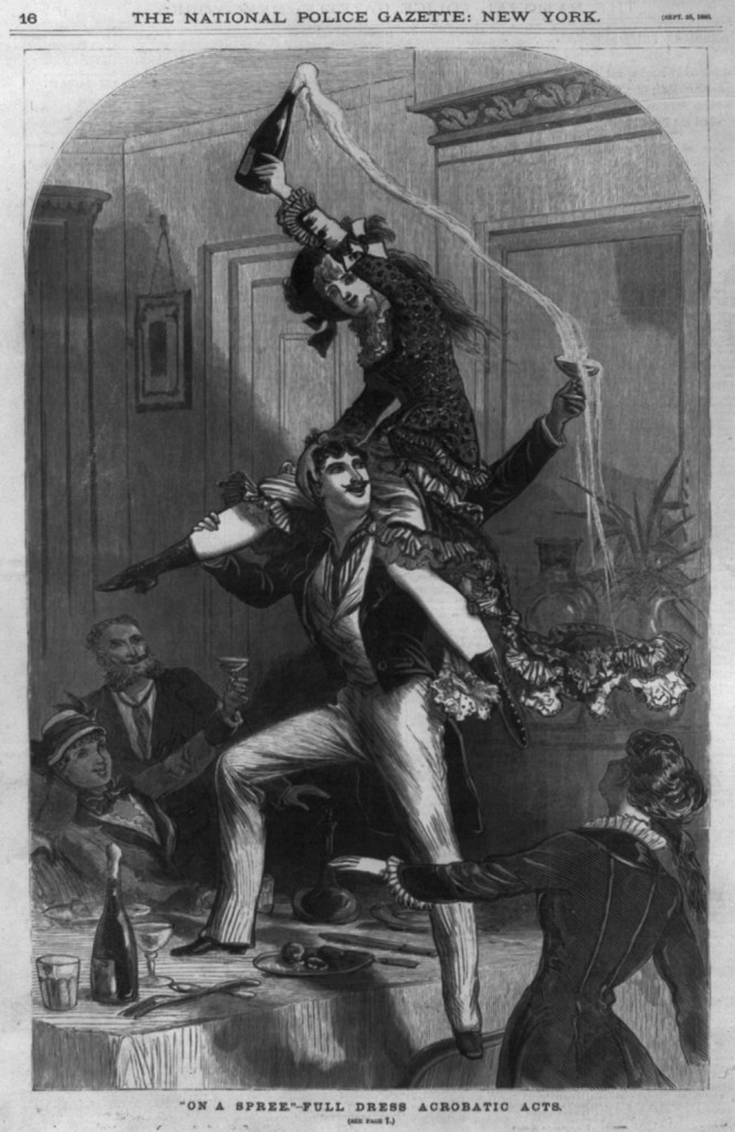 Source: National Police Gazette, 1880-1881. Source: Library of Congress