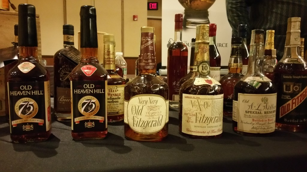 Heaven Hill bourbons at WhiskyLiveUSA. Photography by Kevin R. Kosar.