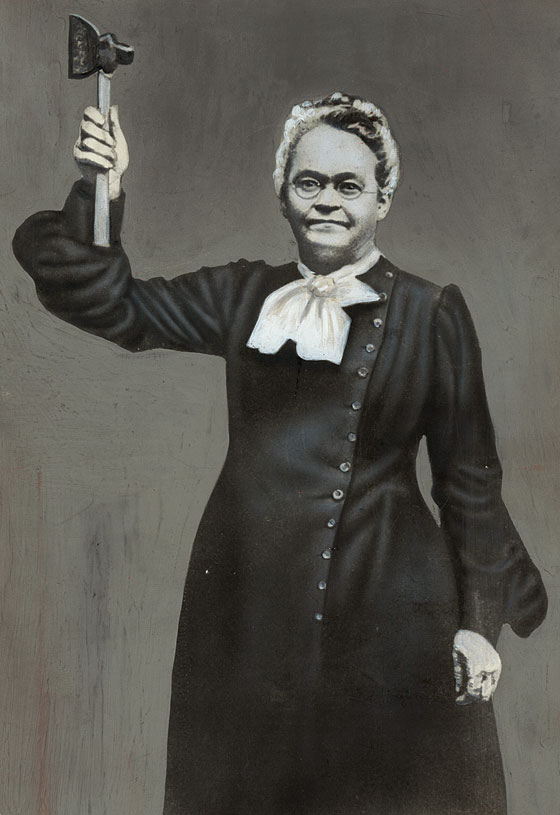 Carrie Nation, the Hatchet-Wielding Temperance Warrior.