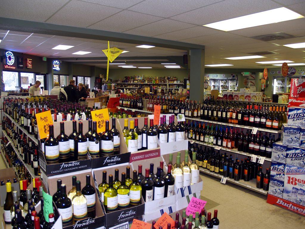 A liquor store in Breckenridge, Colorado. Photo credit: David Shankbone, Wikipedia.